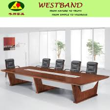 Big Meeting Table China 2013 Modern Design Solid Wood Big Square Conference Table
