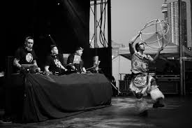 this is what happens when native powwow meets electronic dance music
