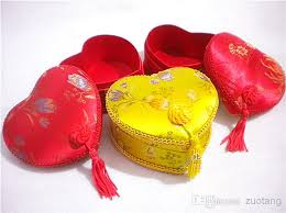 Heart Shaped Candy Boxes Wholesale Craft Lace Heart Shaped Boxes Wedding Bride Groom Favor Candy Box