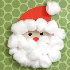 cotton santa craft