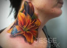 45 unique lily cover up tattoos