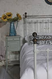king size victorian brass and iron bed in french grey 293670
