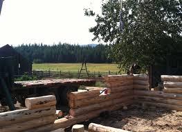 One Story Log Homes Willson Log Home Montana Specialty Log Construction Montana