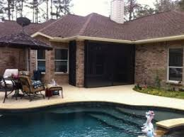 Screened In Patios Houston Screened Porches Screened In Patio Houston