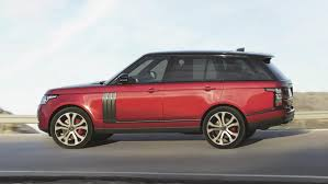 red land rover old presenting the most powerful range rover ever fit my car journal