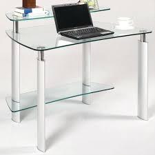 Small Glass Computer Desk Modern Glass Computer Desk Office Desk Modern Computer Desk Black