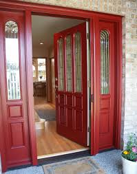 Colors For Front Doors by Creating A Charming Entryway With Red Front Doors