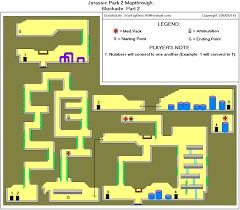 Jurassic Park Map Jurassic Park 2 The Chaos Continues Blockade Part 2 Map Gif