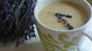 lavender tea lavender milk tea recipe que rica vida