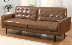 Lazyboy Leather Sleeper Sofa Contemporary Living Room Decoration With Aris Tufted Large