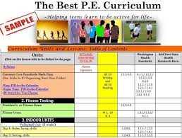 online pe class high school 95 best p e lessons for middle and high school physical