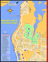 Map Of Mazatlan Mexico by Mazatlan Golden Zone Maplets