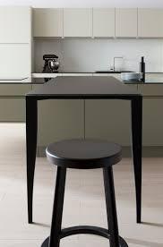 cuisine sur pied quand la cuisine aménagée suit les tendances du mobilier le