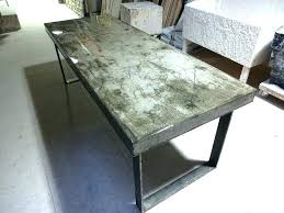 concrete and wood dining table the best of round concrete dining table buskmovie com writers bloc