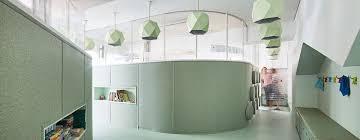 designboom green school adorable elementary school features mint green pivoting walls curbed