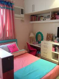 hl designs little girls rooms pink and aqua blue were the colors
