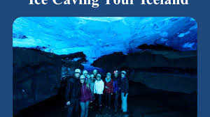 iceland ice cave tour youtube