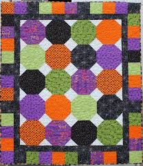a little bit biased haunted house quilt fabric mill halloween