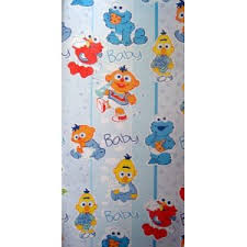 elmo christmas wrapping paper sesame baby elmo gift wrap wrapping paper bows blue