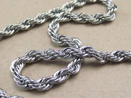 necklace chain stainless steel images 3mm twist chain stainless steel necklace rope chain man 39 s lady jpg
