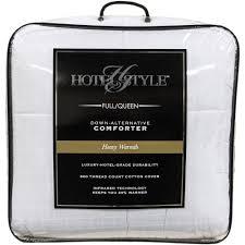 hotel style heavy warmth down alternative comforter walmart com