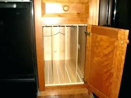 kitchen cabinet tray dividers cabinet organizers for cookie sheets install organizer racks inside