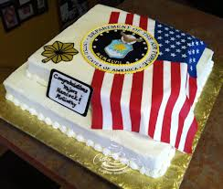 Flag Cakes Military And Scout Cakes Cathy Leavitt Custom Creations Colorado