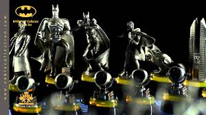 nn4209 batman collector chess set from the noble collection youtube