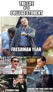 Senior Year Meme - years of college roberto mattni co