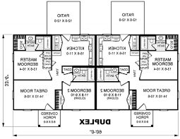 duplex house plans with garage building plans for homes online home plan side by house split