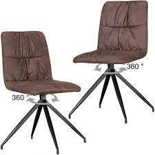 Esszimmerst Le Mit Armlehne In Leder Finebuy 2er Set Design Esszimmerstühle Henry Im Retro Design
