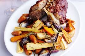Roast Vegetable Recipe by Roast Rack Of Lamb And Goose Fat Roasted Vegetables Tesco Real Food