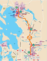 Seattle Bus Route Map by Route 80x County Connector Mount Vernon To Bellingham Station