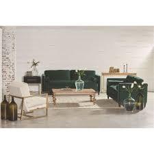 magnolia home furniture emerald green velvet sofa u0026 loveseat