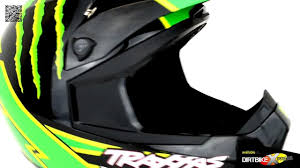 monster energy motocross helmets 2012 thor quadrant helmet pro circuit monster youtube