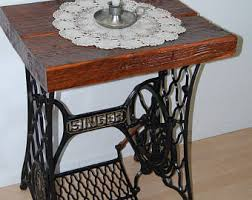 Sewing Machine With Table Singer Sewing Table Etsy