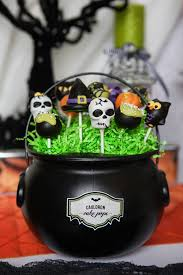 Halloween Themed Cake Pops by A Wicked Witch Inspired Halloween Party Hoopla Events Krista O