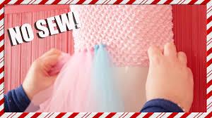 how to make a no sew tutu youtube