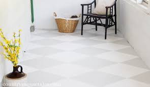 Decorative Floor Painting Ideas Amazing How To Paint A Concrete Floor Remodelaholic Pertaining To