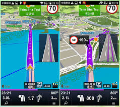 gps apk sygic car gps navigation map apk for hong kong macau