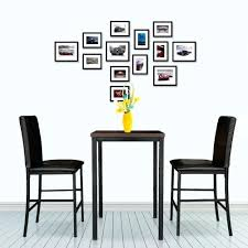 bistro table set indoor pub bistro table sets modern pub bar table with 2 chairs indoor