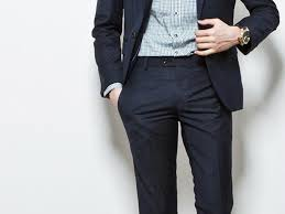 new men u0027s slim fit casual formal straight dress pants smooth