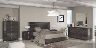 Italian Bedroom Sets Sarah Modern Grey Italian Bedroom Set By At Home Usa Free Shipping