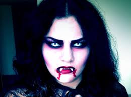 vampire make up tutorial halloween youtube