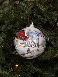 ornaments representing west virginia
