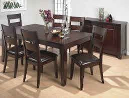first class dining room table and chairs