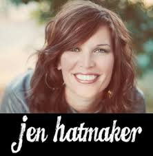 caution on jen hatmaker by christine pack