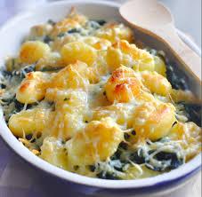cuisiner gnocchi gratin de gnocchis aux épinards recette gratin de gnocchis aux