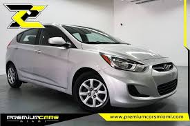 hyundai accent miami 2014 hyundai accent gs 4dr hatchback in miami fl premium cars of