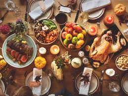 Thanksgiving Buffet Table Setting Ideas Thanksgiving Decorating Tablescapes And Centerpiece Tips And Ideas
